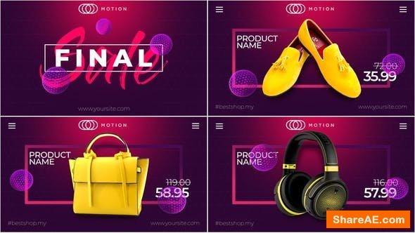 Videohive Final SALE - Online Market