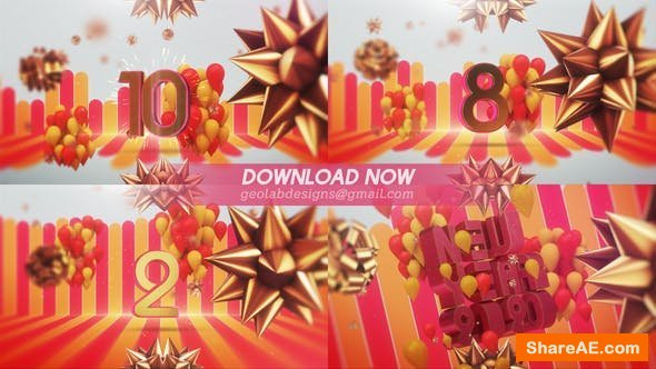 Videohive New Year 2020 Countdown l New Year Celebration Template
