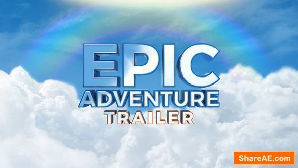 Videohive Epic Adventure Trailer