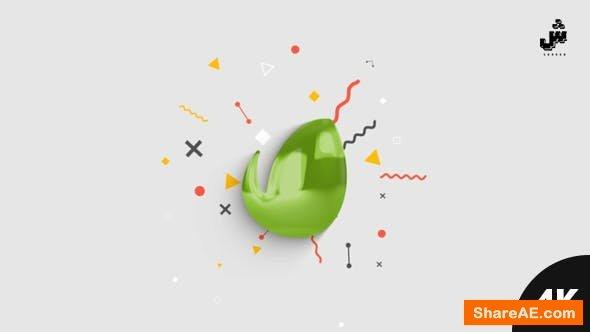 Videohive Minimal Glossy Logo Reveal