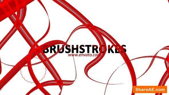 Videohive BrushStrokes Opener / Logo Reveal