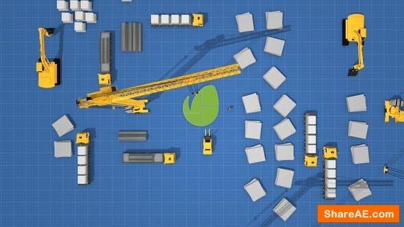 Videohive Logo Construction Architecture 23996358