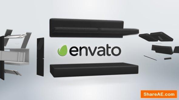 Videohive Furniture Clean Logo Black