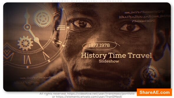 Videohive History Time Travel Slideshow
