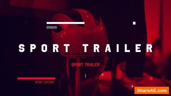 Videohive Sport Opener - Trailer
