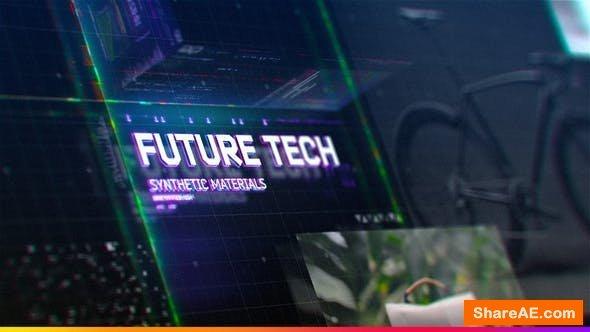 Videohive Futuristic HUD Slideshow