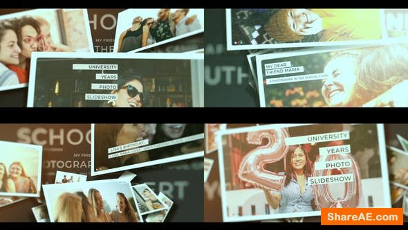 Videohive School Years Photo Slideshow
