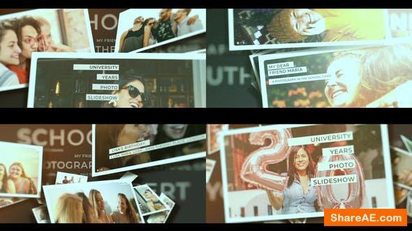 Videohive School Years Photo Slideshow