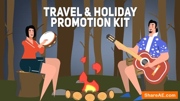 Videohive Travel & Holiday Promotion Kit