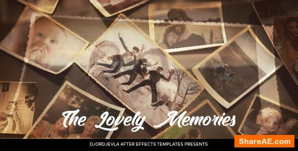 Videohive Lovely Memories 21257090