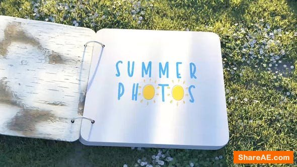 Videohive Summer Photo Album