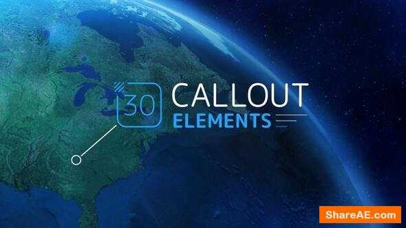 Videohive Callout Elements 24779589