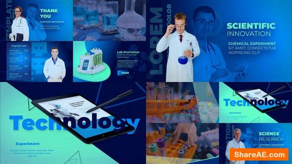Videohive Medical Scientific Presentation