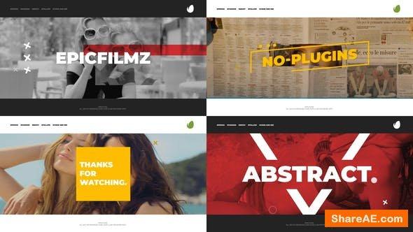 Videohive Juno - Promo Opener Template
