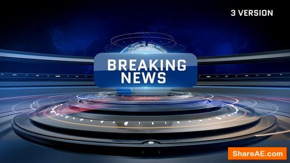 Videohive World News Time