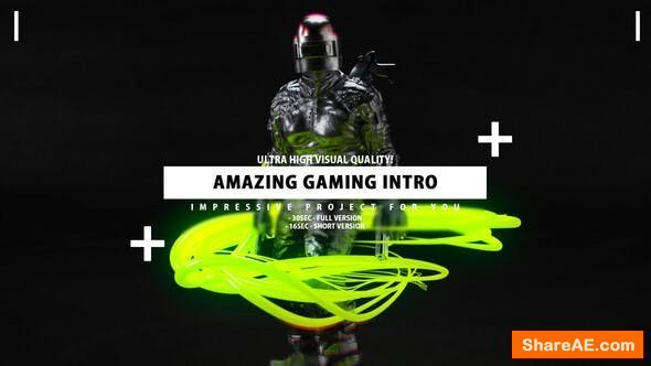 Videohive Gaming Intro - Gamer channel opener