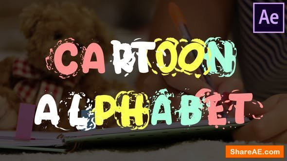 Videohive Cartoon Alphabet | After Effects