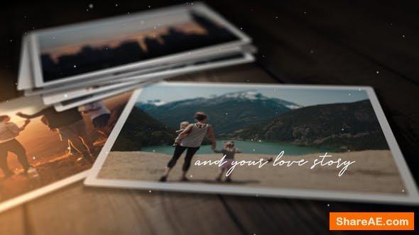 Videohive Romantic Photo Story