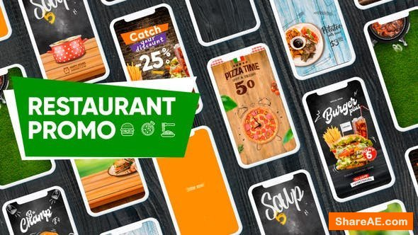 Videohive Restaurant Promo-Social Network