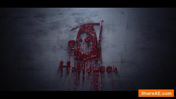 Videohive Horror Logo