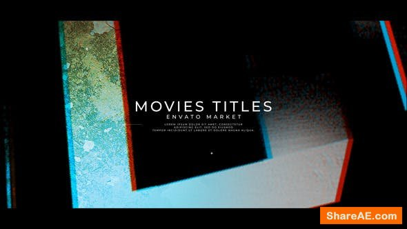 Videohive New Project Movies Titles