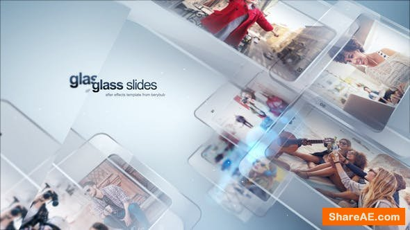 Videohive Modern Glass Slide