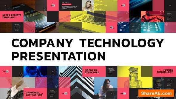 Videohive Company Technology Presentation