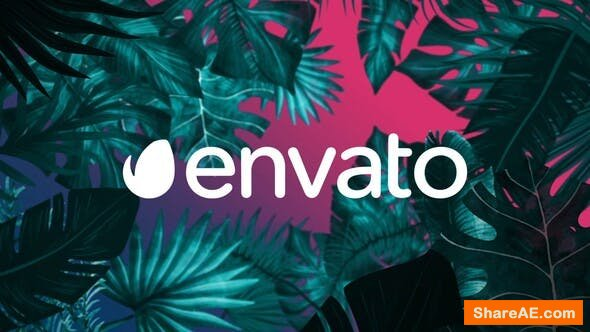 Videohive Night Tropical Logo