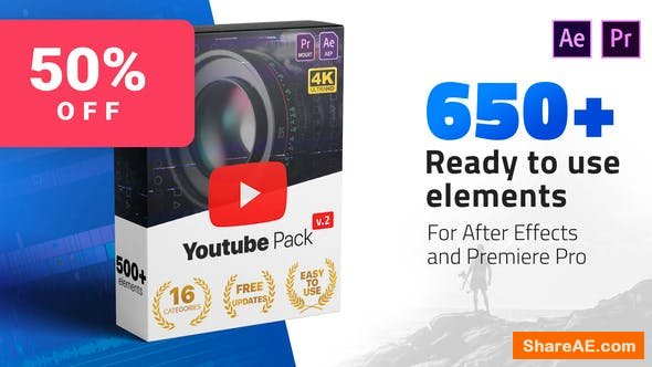 Videohive Youtube Pack 24980642