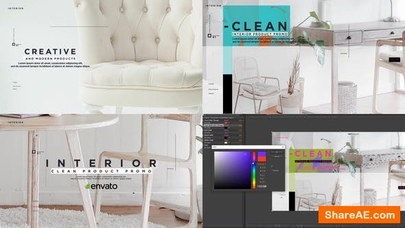 Videohive Clean Interior Product Promo