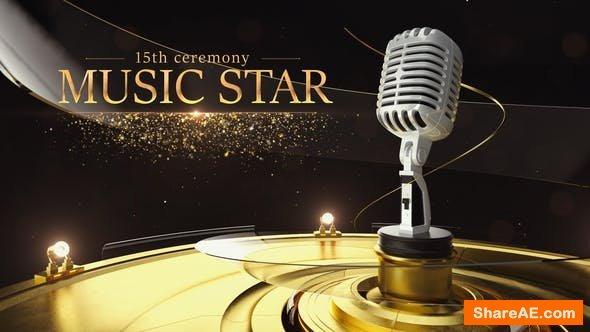 Videohive Music Star Opener