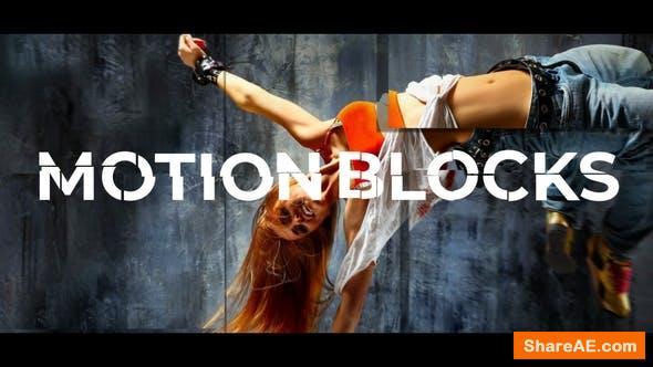 Videohive Motion Blocks Opener