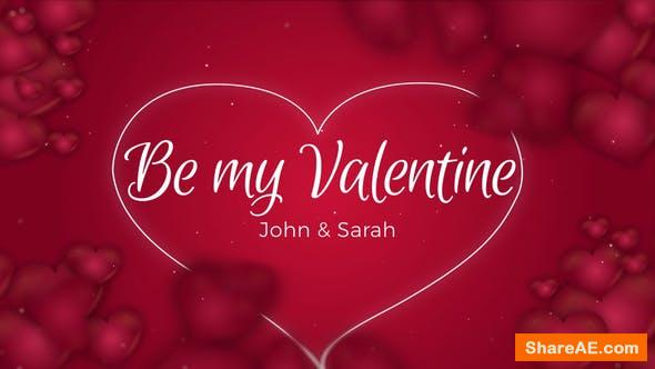 Videohive Be my Valentine