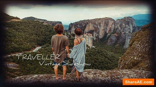 Videohive Traveller - Vintage Slideshow