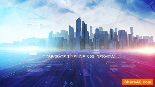 Videohive Corporate Timeline & Slideshow