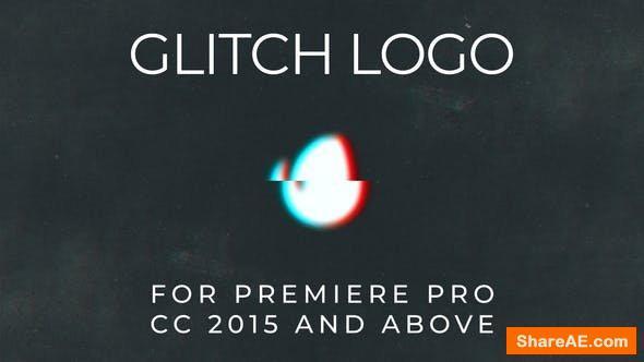 Videohive Glitch Logo - Premiere Pro 24696390