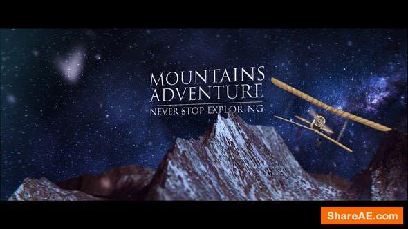 Videohive Mountain Logo Reveal