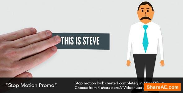 Videohive Stop Motion Promo