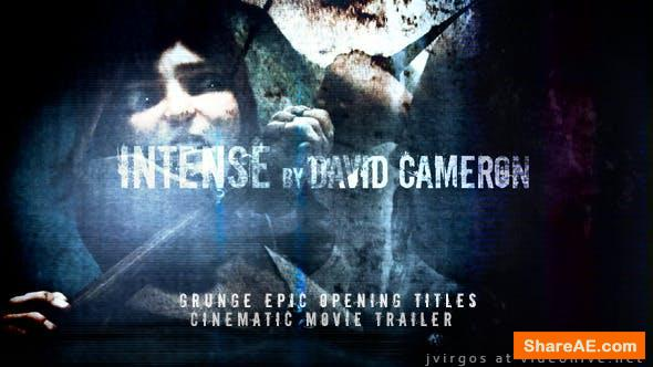 Videohive Grunge Epic Opening Titles - Cinematic Movie Trailer