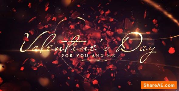 Videohive Valentines Day Love Message