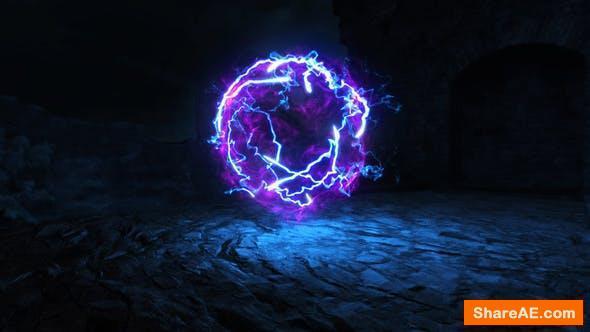 Videohive Magic Particles Logo