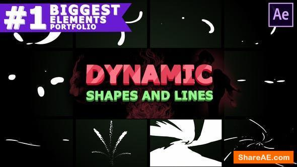 Videohive Dynamic Shapes and Lines | After Effects