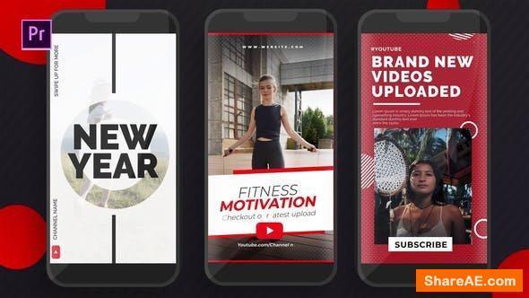 Videohive Youtube Instgaram Stories - Premiere PRO