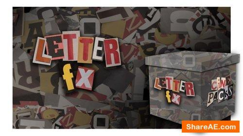 Letter FX - CinePacks