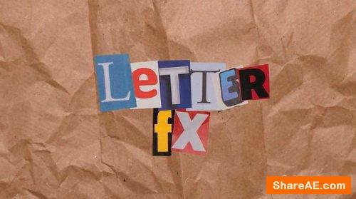 Letter FX - CinePacks