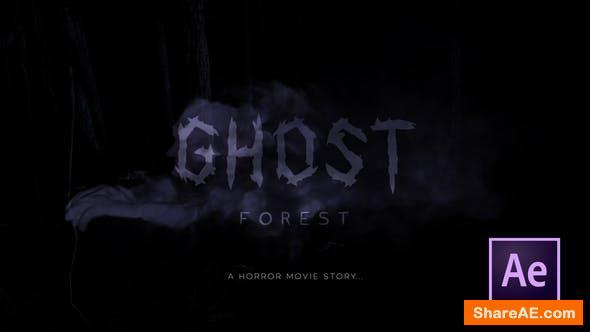 Videohive Ghost Forest Trailer