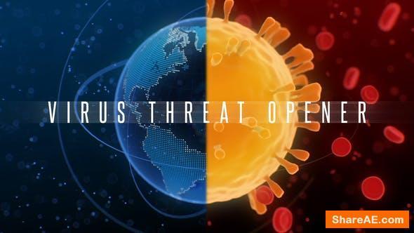 Videohive Coronavirus Threat Opener