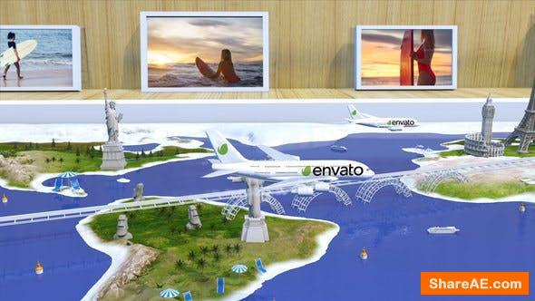 Videohive Travel With Us - Airlines