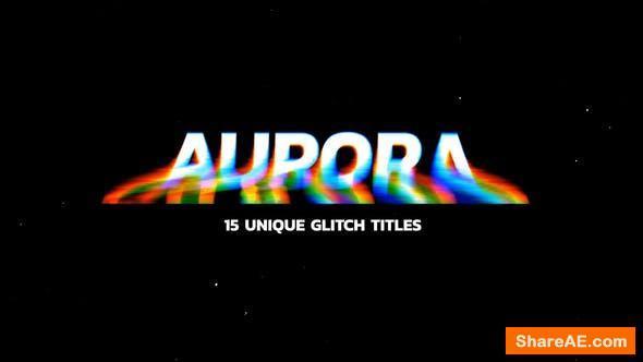 Videohive Glitch Titles 24740390