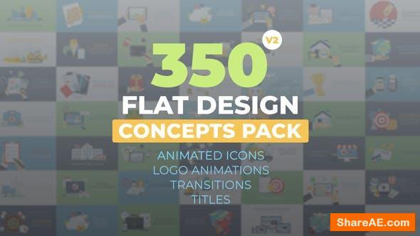 Videohive Flat Design Concepts